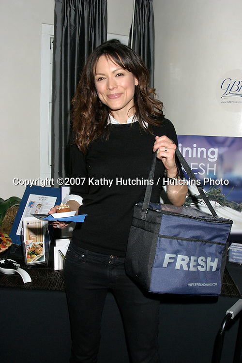 Liz Vassey .GBK Emmy Gifting Suite.Hollywood Roosevelt Hotel.Los Angeles,  CA.September 13, 2007.©2007 Kathy Hutchins / Hutchins Photo...