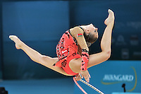August 28, 2013 - Kiev, Ukraine - MELITINA STANIOUTA of Belarus performs at 2013 World Championships.
