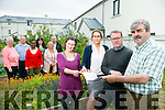 Launching a review report into the development of future Allotments in Tralee. on Tuesday  Pictured front l-r  Niamh Ni Dhuill, Patricia Dowling, NEWKD, John Loughrey, JL Consultancy Report Writer, Peter Colleran, Moyderwell Allotments. Back l-r Liz Raitt, Bernard Keane,  Dorcas Mudamvanji, Caroline Toal, KCC, Geraldine O Meara, Cathal O Shea, NEWKD