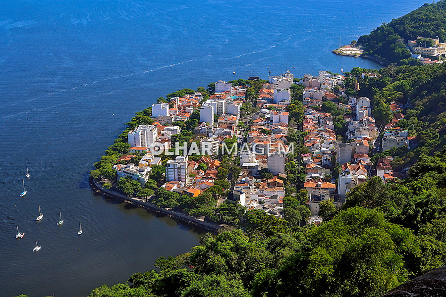 Casas e predios, bairro da Urca, Rio de Janeiro. 2019. Foto © Juca Martins