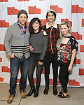 "Joe Tippett, Isabelle Fuhrman, Alex Wolff and Abigail Breslin attend the New Group's ""All the Fine Boys"" rehearsal photocall at their rehearsal studio on February 3, 2017 in New York City."