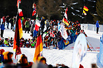 25/01/2015, Anterselva - Antholz - IBU Biathlon World Cup 2015 - Antholz -   Anterselva - Italy<br /> Aita Gasparin (SUI) competes at the relay in Anterselva - Antholz, Italy on 25/01/2015. Germany's team with Franziska Hidelbrand, Franziska Preuss, Luise Kummer and Laura Dahlmeier wins.