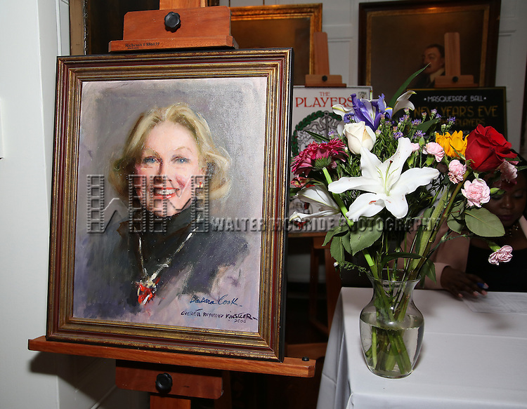 The 2016 Helen Hayes Award Dinner honoring Barbara Cook at The Players Club on November 17, 2016 in New York City.