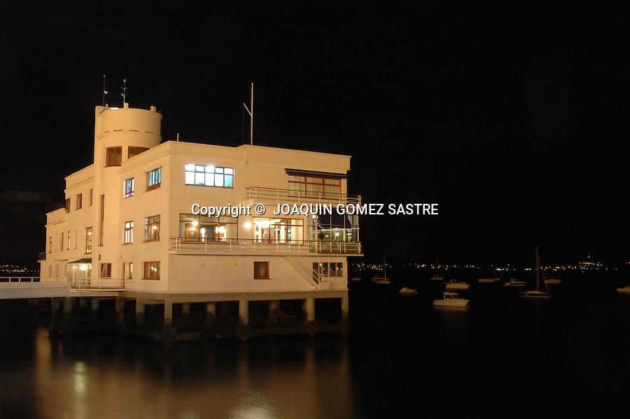 Club Maritimo de Santander  vista nocturna..foto © JOAQUIN GOMEZ SASTRE