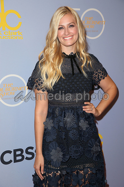 "04 October 2017 - Los Angeles, California - Beth Behrs. CBS ""The Carol Burnett Show 50th Anniversary Special"". Photo Credit: F. Sadou/AdMedia"