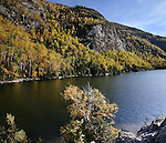 Autumn In The Adirondack Mountains At Chapel Pond, New York State