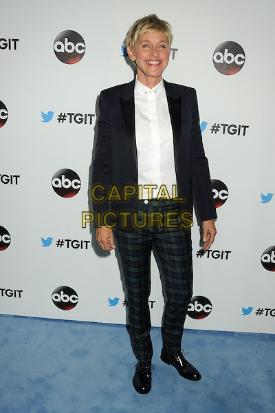 20 September 2014 - West Hollywood, California - Ellen DeGeneres. ABC's &quot;Thank Good It's Thursday!&quot; Premiere Event for &quot;Grey's Anatomy&quot;, &quot;Scandal&quot;, &quot;How To Get Away With Murder&quot; held at Palihouse.  <br /> CAP/ADM/BP<br /> &copy;Byron Purvis/AdMedia/Capital Pictures