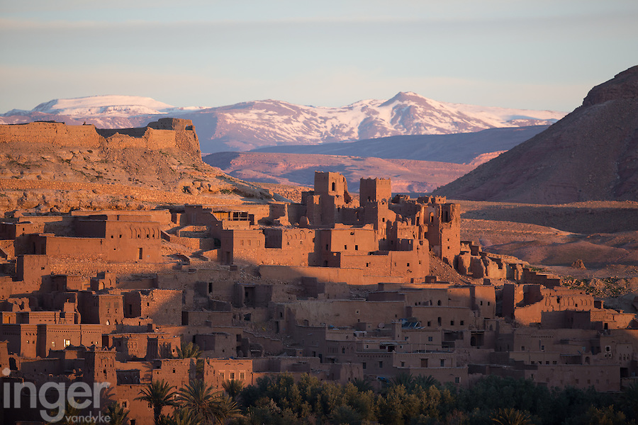Ait Ben Haddou at Sunrise