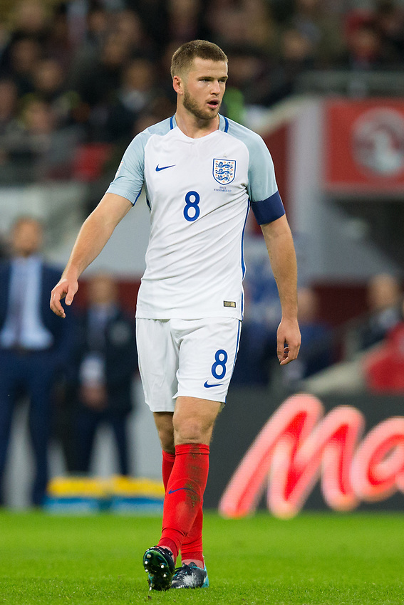 England's Eric Dier <br /> <br /> Photographer Craig Mercer/CameraSport<br /> <br /> The Bobby Moore Fund International - England v Brazil - Tuesday 14th November 2017 Wembley Stadium - London  <br /> <br /> World Copyright &copy; 2017 CameraSport. All rights reserved. 43 Linden Ave. Countesthorpe. Leicester. England. LE8 5PG - Tel: +44 (0) 116 277 4147 - admin@camerasport.com - www.camerasport.com