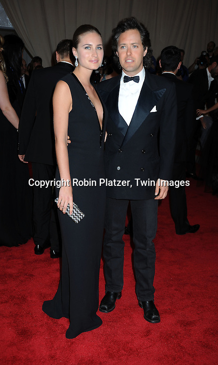 Lauren Bush and David Lauren arriving at The Costume Institute Gala Benefit celebrating American Woman: Fashioning a National Identity at The Metropolitan Museum of Art on May 3, 2010 in New York City.