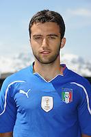 Giuseppe ROSSI<br /> Foto Ufficiale Nazionale Italia - Coppa del Mondo Sudafrica 2010<br /> Sestriere 26/5/2010 <br /> Foto FIGC/Andrea Staccioli Insidefoto