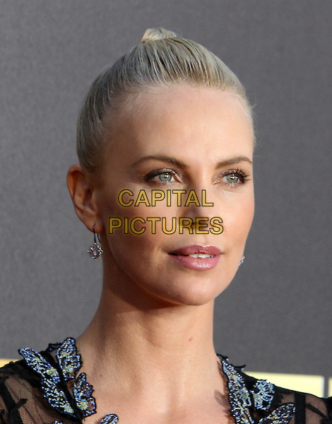 Burbank, CA - April 09 Charlize Theron Attending 25th Annual MTV Movie Awards at The Warner Brothers Studios On April 09, 2016. <br /> CAP/ADM/FS<br /> &copy;FS/ADM/Capital Pictures