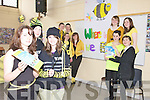 WHERE WILL WE BEE? Students from Presentation Secondary School Tralee are focusing on the plight of bees for their Eco UNESCO competition. Front from l-r were: Maura O'Donnell, Diane Quirke and Paula Buckley. Middle l-r were: Leonie Hannafin, Ciara Horgan, Aoife Williams and Laura O'Connor. Back l-r were: Aine Leen, Cliodhna Quirke, Aoife McMahon and Cornelia Prenderville..