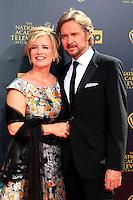 BURBANK - APR 26: Mary Beth Evans, Stephen Nichols at the 42nd Daytime Emmy Awards Gala at Warner Bros. Studio on April 26, 2015 in Burbank, California