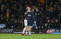 West Ham United's Marko Arnautovic is taken off injured<br /> <br /> Photographer Rob Newell/CameraSport<br /> <br /> The Premier League - Wolverhampton Wanderers v West Ham United - Tuesday 29th January 2019 - Molineux - Wolverhampton<br /> <br /> World Copyright © 2019 CameraSport. All rights reserved. 43 Linden Ave. Countesthorpe. Leicester. England. LE8 5PG - Tel: +44 (0) 116 277 4147 - admin@camerasport.com - www.camerasport.com