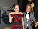 Nathan Johnson and Laura Osnes attending the Broadway Opening Night Performance of 'The Mystery of Edwin Drood' at Studio 54 in New York City on 11/13/2012