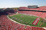 A general view of Camp Randall Stadium during the Wisconsin Badgers NCAA college football game against the Minnesota Golden Gophers on October 9, 2010 at Camp Randall Stadium in Madison, Wisconsin. The Badgers beat the Golden Gophers 41-23. (Photo by David Stluka)