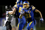 BROOKINGS, SD - OCTOBER 11:  Zach Zenner #31 from South Dakota State breaks through for a big gain against Missouri State in the fourth quarter Saturday evening at Coughlin Alumni Stadium in Brookings. (Photo/Dave Eggen/Inertia)