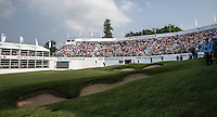 View of the last during Round Three of the 2016 BMW PGA Championship over the West Course at Wentworth, Virginia Water, London. 28/05/2016. Picture: Golffile   David Lloyd. <br /> <br /> All photo usage must display a mandatory copyright credit to © Golffile   David Lloyd.