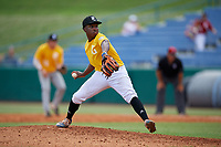 Ryan Spikes (10) of Parkview High School in Lilburn, GA during the Perfect Game National Showcase at Hoover Metropolitan Stadium on June 18, 2020 in Hoover, Alabama. (Mike Janes/Four Seam Images)