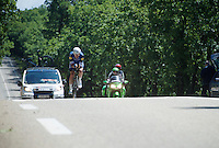 Iljo Keisse (BEL/Etixx-QuickStep)<br /> <br /> stage 13 (ITT): Bourg-Saint-Andeol - Le Caverne de Pont (37.5km)<br /> 103rd Tour de France 2016