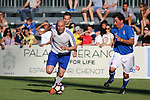 Zinedine Zidane plays at a Charity Football Match<br /> Zinedine Zidane plays with Ciro Ferrara and other politics and magistrates from Italy a charity football match for the population of Amatrice and other villages touched by earthquakes. Enzo Zidane was in tribune, Austrian President Alexander Van Der Bellen who will meet Italian president Sergio Mattarella in Merano, on Sunday made a short visit.