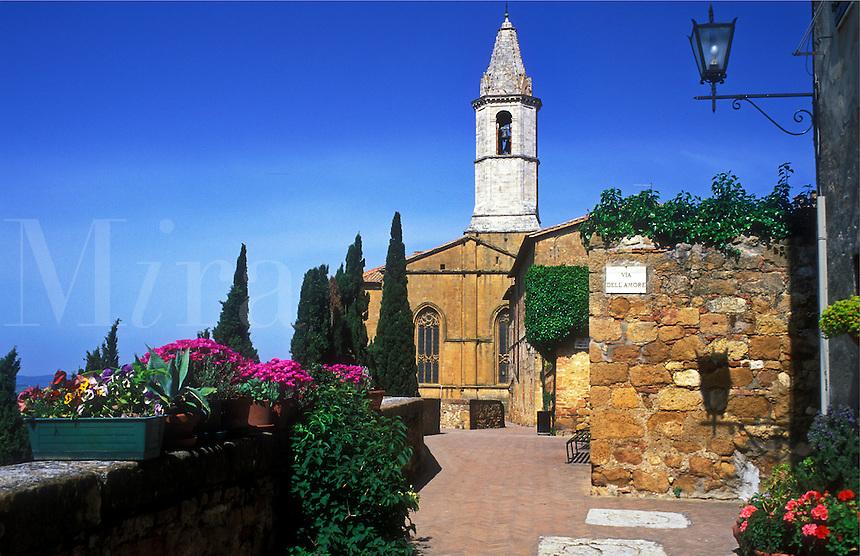 Italy, Pienza, Tuscany