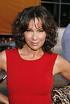 """Actress Jennifer Grey arrives to the """"Iron Man"""" premiere at Grauman's Chinese Theatre on April 30, 2008 in Hollywood, California."""