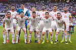 Team I.R. Iran squad poses for photos during during the AFC Asian Cup UAE 2019 Semi Finals match between I.R. Iran (IRN) and Japan (JPN) at Hazza Bin Zayed Stadium  on 28 January 2019 in Al Alin, United Arab Emirates. Photo by Marcio Rodrigo Machado / Power Sport Images