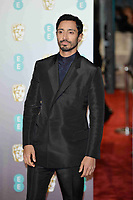 LONDON, UK - FEBRUARY 10: Riz Ahmed at the 72nd British Academy Film Awards held at Albert Hall on February 10, 2019 in London, United Kingdom. Photo: imageSPACE/MediaPunch<br /> CAP/MPI/IS<br /> ©IS/MPI/Capital Pictures