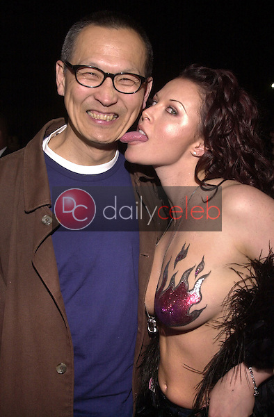 Wayne Wang and Alisha Klass