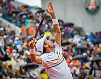 Paris, France, 01 June, 2018, Tennis, French Open, Roland Garros, Roberto Bautista Agut (ESP)<br /> Photo: Henk Koster/tennisimages.com