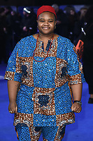 "Joy Gharoro-Akpojotor<br /> arriving for the ""Blue Story"" premiere at the Curzon Mayfair, London.<br /> <br /> ©Ash Knotek  D3534 14/11/2019"