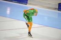 SCHAATSEN: HEERENVEEN: IJsstadion Thialf, 11-11-2012, KPN NK afstanden, Seizoen 2012-2013, 10.000m Heren, Nederlands kampioen, Jorrit Bergsma, ©foto Martin de Jong