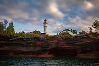 Devil's Island Lighthouse in the Apostle Islands National Lakeshore.