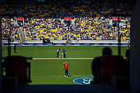 Twenty20 International cricket match between NZ Black Caps and England at Westpac Stadium in Wellington, New Zealand on Sunday, 3 November 2019. Photo: Dave Lintott / lintottphoto.co.nz
