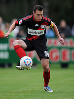 FUSSBALL   1. BUNDESLIGA   SAISON 2011/2012   TESTSPIEL Bayer 04 Leverkusen - Rangers FC                       13.07.2011 Hanno BALITSCH (Bayer 04 Leverkusen) Einzelaktion am Ball