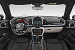 Stock photo of straight dashboard view of 2020 MINI Clubman 5 Door Wagon Dashboard