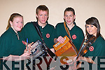 Aisling, Christopher, Damian O'Leary and Diane Healy Kilcummin who performed at the East Kerry Scor finals in the Aras Padraig Killarney on Saturday night       Copyright Kerry's Eye 2008