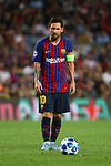 UEFA Champions League 2018/2019 - Matchday 1.<br /> FC Barcelona vs PSV Eindhoven: 4-0.<br /> Lionel Messi.