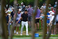 Jonas Blixt (SWE) high fives fans as he approaches the tee on 3 during round 4 of the 2019 Charles Schwab Challenge, Colonial Country Club, Ft. Worth, Texas,  USA. 5/26/2019.<br /> Picture: Golffile | Ken Murray<br /> <br /> All photo usage must carry mandatory copyright credit (© Golffile | Ken Murray)