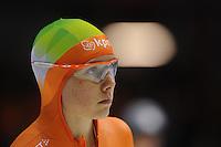 SCHAATSEN: HEERENVEEN: Thialf, Essent ISU World Cup, 02-03-2012, 500m Ladies, Laurine van Riessen (NED), ©foto: Martin de Jong
