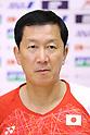 Badminton : Japan national team training session