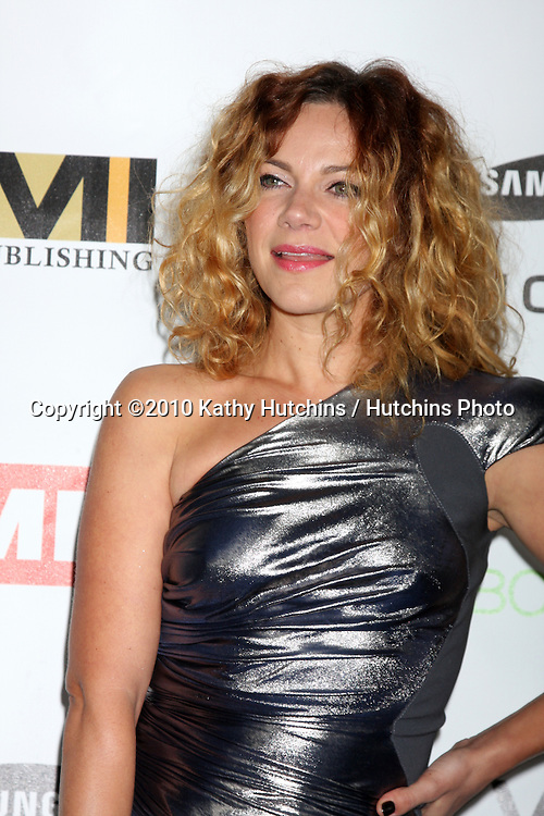 Nikka Costa.arriving at the EMI Post Grammy Party 2010.W Hotel Hollwood.Los Angeles, CA.January 31, 2010.©2010 Kathy Hutchins / Hutchins Photo....