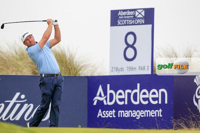 Graeme McDowell (NIR) during round 3 of the Aberdeen Asset Management Scottish Open 2016, Castle Stuart  Golf links, Inverness, Scotland. 09/07/2016.<br /> Picture Fran Caffrey / Golffile.ie<br /> <br /> All photo usage must carry mandatory copyright credit (&copy; Golffile | Fran Caffrey)