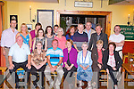 FAMILY REUNION: Charlie and Alice Duggan and Shelia Duggan (seated 3rd, 4th & 5th left), America (originally from Marian Park, Tralee) enjoying a visit home with family and friends at Stokers Lodge restaurant and bar, Tralee on Friday.