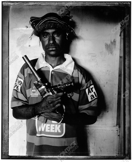 """Aikari,"" Raskols, gangs of Port Moresby, Papua New Guinea, January 2004"