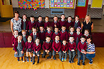 Junior infants from St Bridgid's NS, Duagh who started their school journey on September 1st.