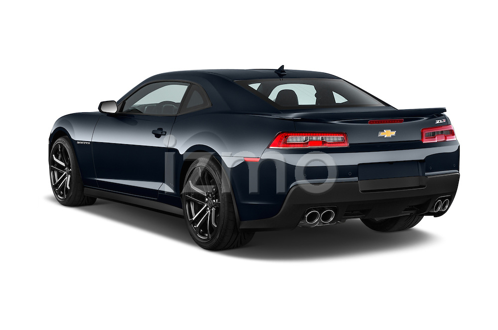 Car pictures of rear three quarter view of a 2015 Chevrolet Camaro ZL1 Coupe 2 Door  Angular Rear