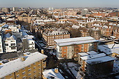 View over Penfold Street and Lisson Green from Kennet House.